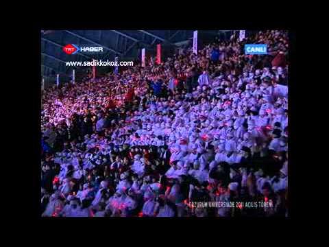 Anadolu Ateşi Baş Bar Gösterisi Universiade 2011 Erzurum Kış Oyunları Açılış İzle