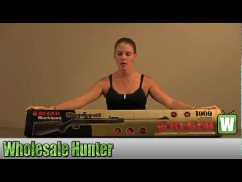 Umarex  USA  Ruger Blackhawk Combo 4x32 Scope .177 cal 2244010 Shooting Gaming Unboxing