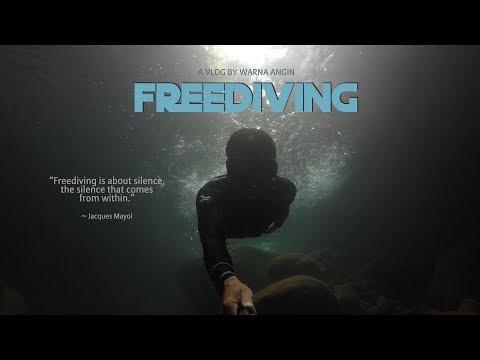 Freediving di Balong Endah - Gunung Salak