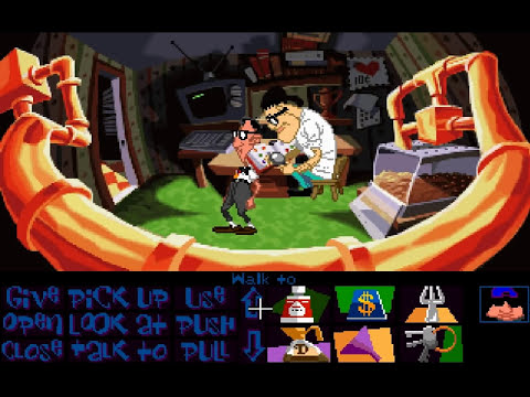 Lets Play Day Of The Tentacle - Part 1 [HD] (PC Gameplay)