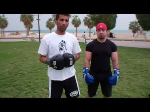 ضربات الكوع kick boxing elbows Image 1