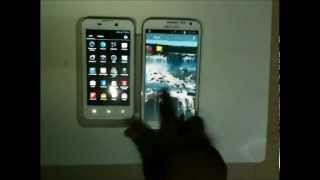 Note 2 vs iBall andi 4.5h