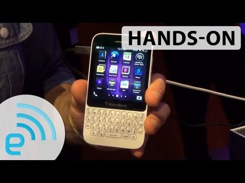 BlackBerry Q5 hands-on | Engadget
