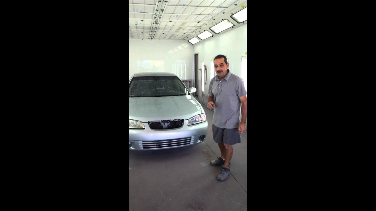 low cost repair paint auto painting plus youtube