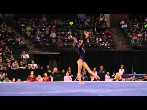Katelyn Ohashi - Floor Exercise Finals - 2012 Kellogg&#039;s Pacific Rim Championships