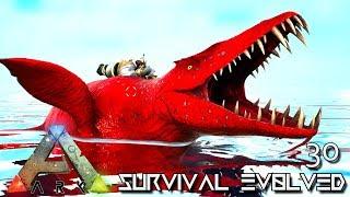 ARK: SURVIVAL EVOLVED - NEW UPDATE LIOPLEURODON TAME & BEE CAVES !!! E30 (ETERNAL CRYSTAL ISLES)