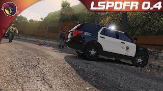 GTAV LSPDFR POLICE MOD Ep246: We have Trouble Makers in Rockford Hills!