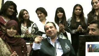 Live private singing of Rahat Fateh Ali Khan