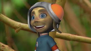 GORILLA  Animals for children  Kids videos  Kindergarten   Preschool learning