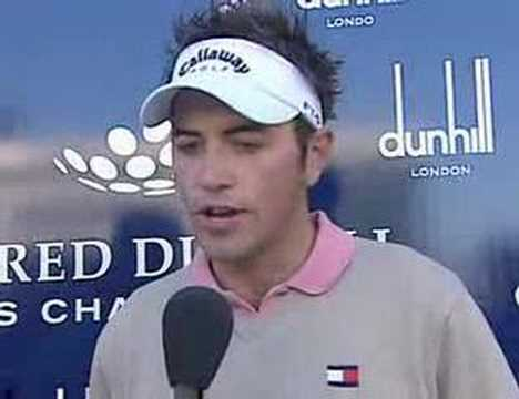 Nick Dougherty interview after 4th round