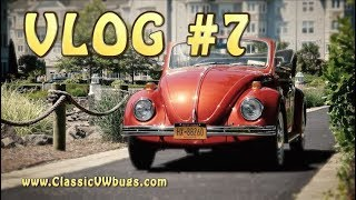 Classic VW BuGs VLOG #7 New Projects IN, CBS NEWS, Super Beetle Talk
