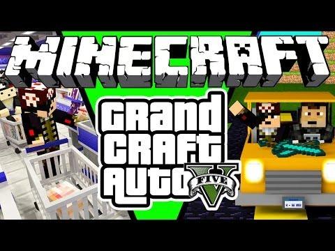 GRAND CRAFT AUTO V! - Minecraft #1?