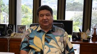 Ask Your Senator 2013: Thanks for Asking (Senator Ronald Kouchi)