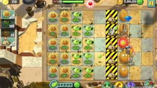 Challenge Test! - Unused Level - Plants vs. Zombies 2: It