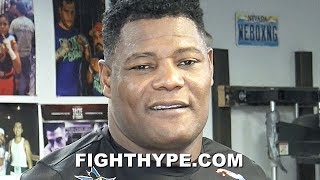 "LUIS ORTIZ EXPLAINS ""NEW LOOK"" STRENGTH TRAINING FOR WILDER REMATCH; ""VERY HAPPY"" WITH RESULTS"