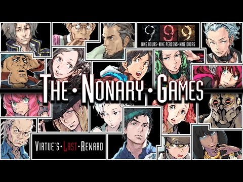Zero Escape: The Nonary Games - Steam Trailer