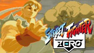 Ryu vs Sagat Mais uma Vez - Street Fighter Zero no Saturn