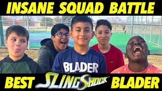 Funny Beyblade Squad Battle!  Best SlingShock Tournament!