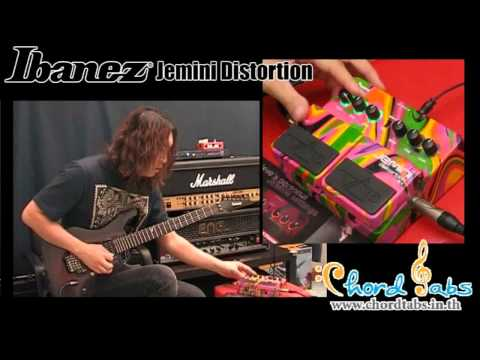 Review Ibanez Jemini Distortion Steve Vai Signature video