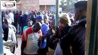 Situation at Olympic polling station This Morning