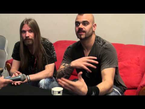 Sabaton interview Sauna Open Air 2013