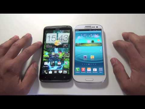Videocomparativa HTC One X vs Samsung Galaxy S III