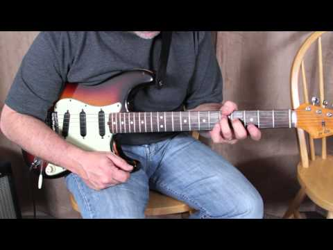 Blues Rock Jazz Funk Guitar Lessons - Blues Inspired by John Mayer and John Scofield