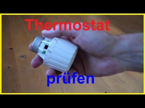Thermostat defekt? prüfen - Thermostat überprüfen - Thermostat gängig machen