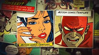 Action Comic 2  - After Effects template from Videohive