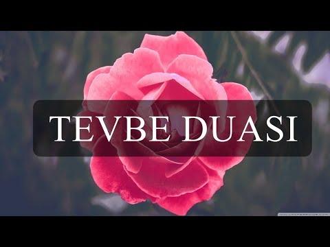 Tevbe, İstiğfar Duası