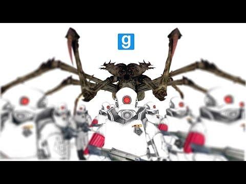 Combine Elite Soldiers (121) vs Spider Queen (4)