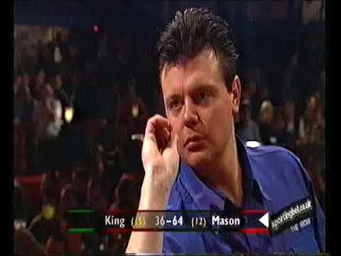 King vs Mason Darts World Championship 2001 Round 1