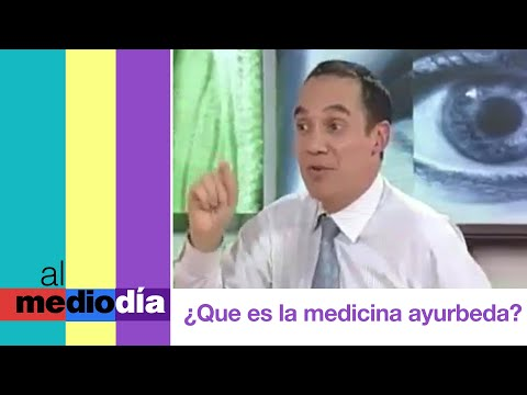 Qu es la medicina ayurveda? Al Medioda mircoles 05-09-2012