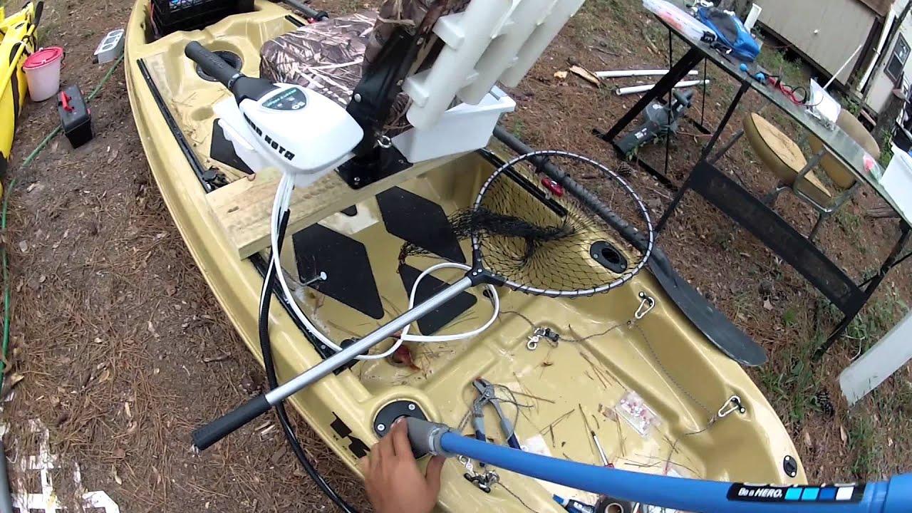 Diy gopro fishing mount for kayak rod holders youtube for Gopro fishing mounts