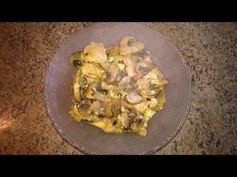 Куриное филе с грибами в мультиварке рецепты с фото