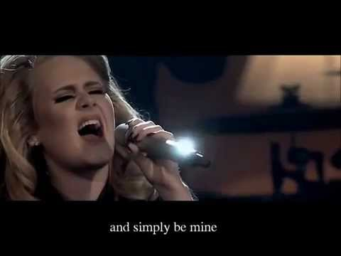 Adele - ''One And Only'' ( Music Video + LYRICS )