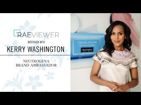 INTERVIEW: Kerry Washington on Neutrogena, Skin & Beauty Tips + Scandal