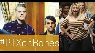 Pentatonix - Trio Guest Starring on Bones | Kirstin, Mitch & Scott.