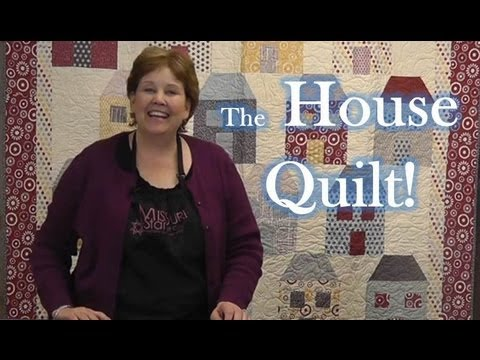 Won't You Be My Neighbor - The House Quilt!