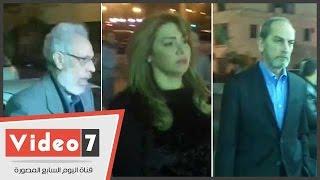 الحلفاوى وهشام سليم ومحمد النجار ولقاء سويدان يشاركون فى عزاء ممدوح عبد العليم