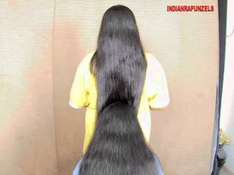 Indianrapunzels--combo Long Hair Play--ea+p 1 video