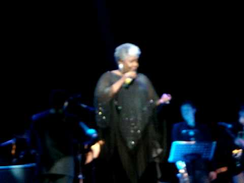 DOROTHY MOORE performing live