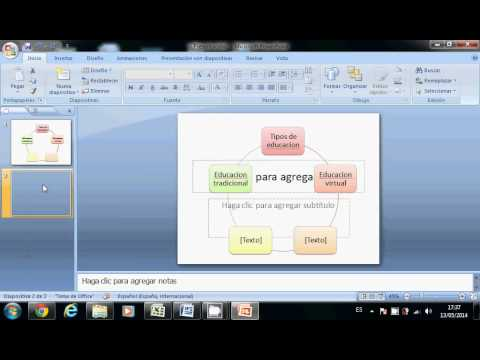 tutorial de como hacer mapas mentales en power point