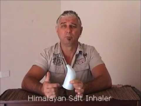 Himalayan Salt Inhaler (maybe get rid of that puffer?) by Steven Bettles from Salt Lamps Australia