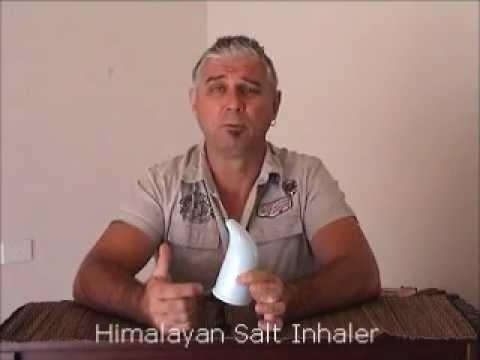 Himalayan Salt Inhaler (maybe get rid of that puffer?) by Steven Bettles from Salt Lamps Australia