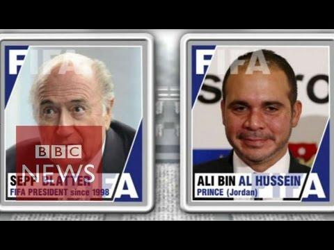 FIFA Presidency: Sepp Blatter vs Prince Ali bin al-Hussein - BBC News