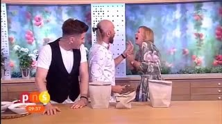Host Gets Stabbed With Nail On Live TV When Magic Trick Goes Horribly Wrong