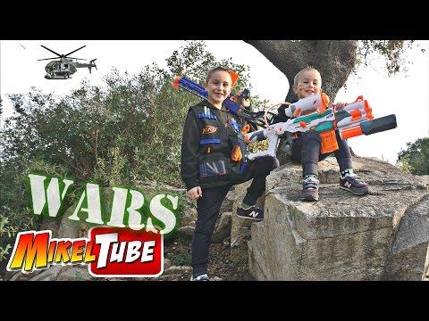 Nerf MikelTube WARS - Capitulo Uno - Leo Contraataca