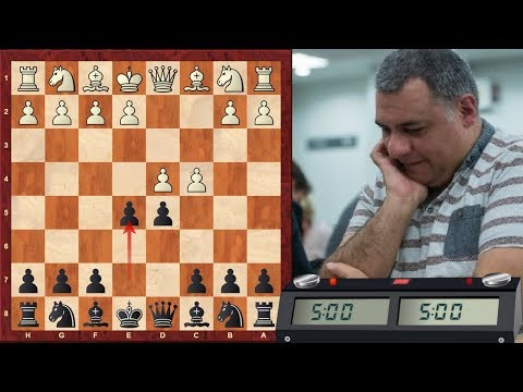 LIVE Blitz #2578 (Speed) Chess Game: Black vs IM alexser in QGD: Albin counter-gambit