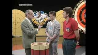 Bullseye - Non Dart Thrower wins Star Prize with Two Throws